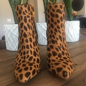 Vince Camuto Britsy 2 Leopard Booties